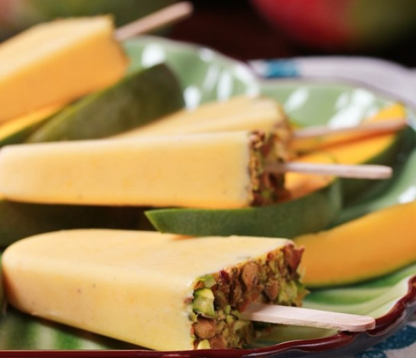Homemade Mango Lassi Popsicles Recipe