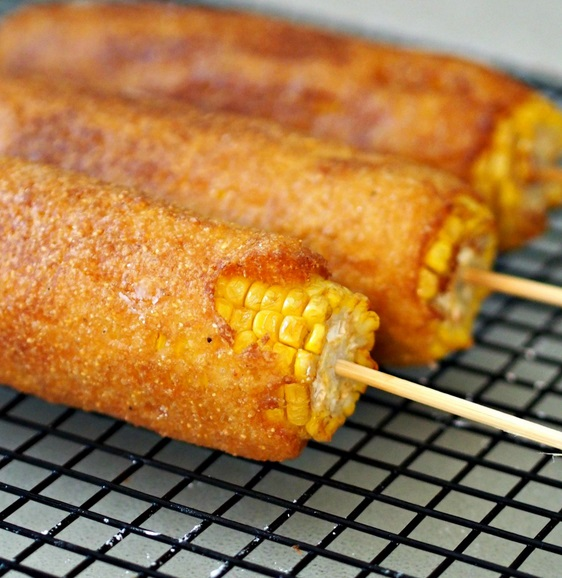 Fired Batter Corn On The Cob