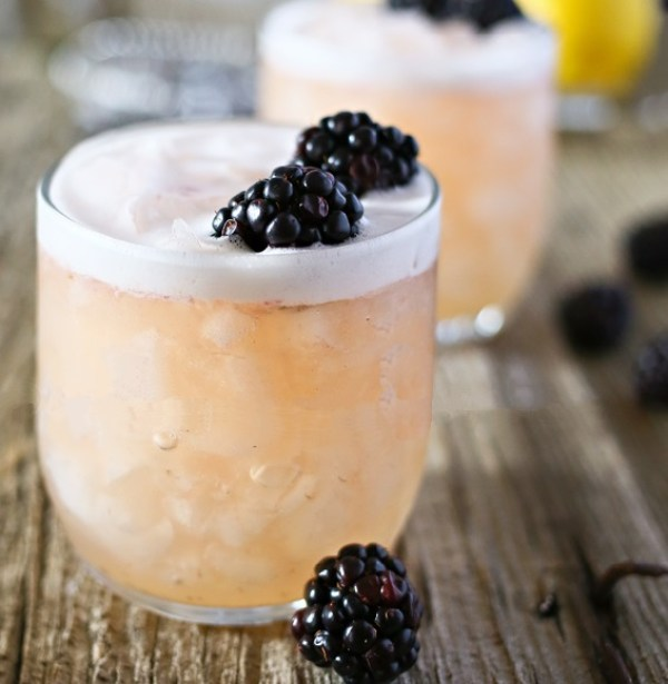 Blushing Whiskey Sour Recipe