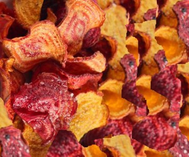 Homemade Beetroot Chips
