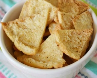 Homemade Pitta Crisps