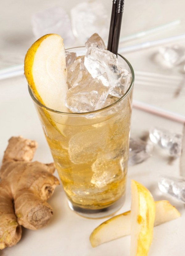 Homemade Ginger Lemonade Recipe