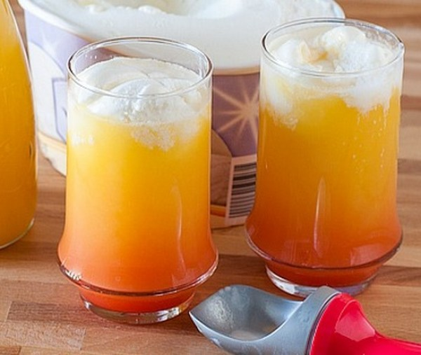 Florida Orange Juice Float