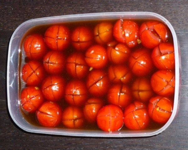 Bloody Mary Tomatoes