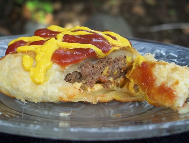 Cheeseburger Pasty
