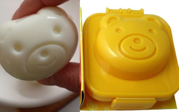 Bear Boiled Egg Mould