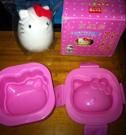 Hello Kitty Egg Mould