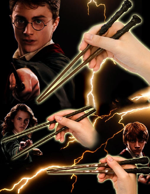 Harry Potter Wand Chopsticks