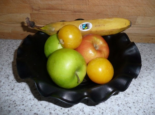 LP Record Fruit Bowl
