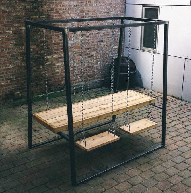 Swingset Picnic Table