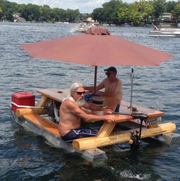 Boat Picnic Table