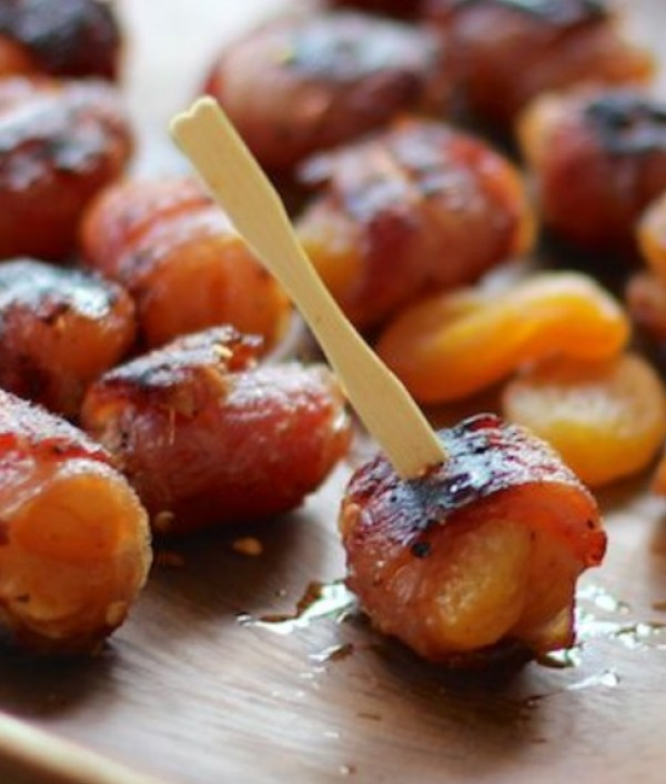 Apricot Stuffed Bacon