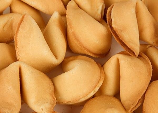 Orange Fortune Cookies
