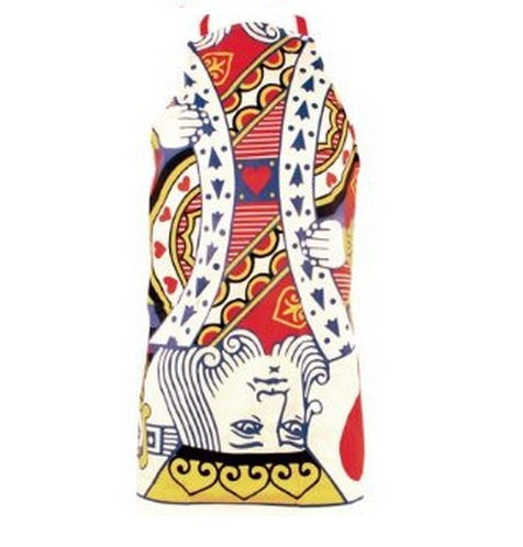 King Of Hearts Playing Card Kitchen Apron