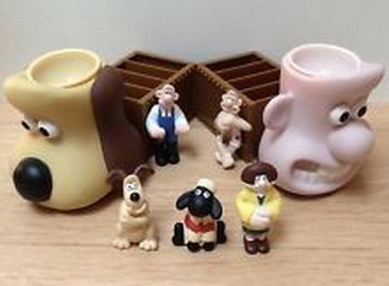 Wallace & Gromit Breakfast Set