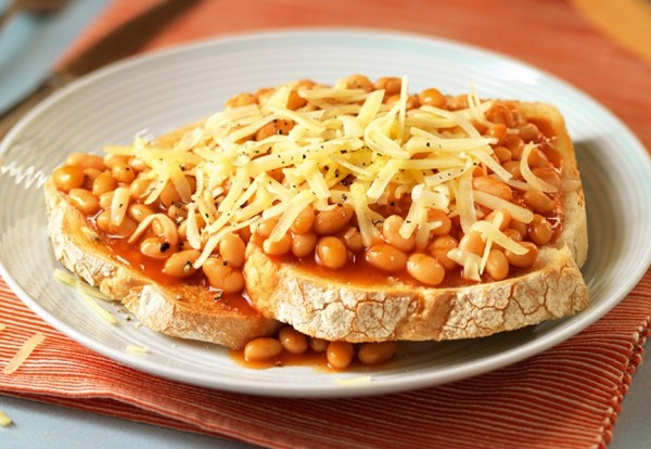 Beans & Cheese on Toast