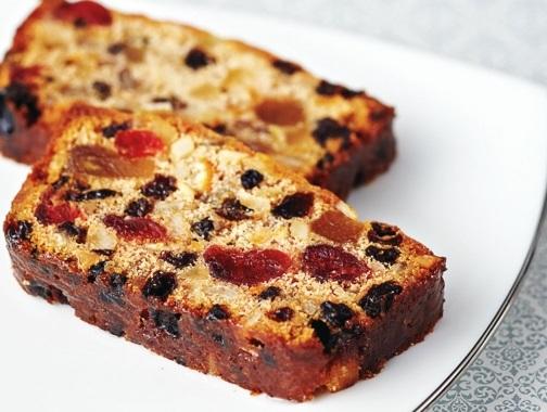Rich Brandied Fruitcake
