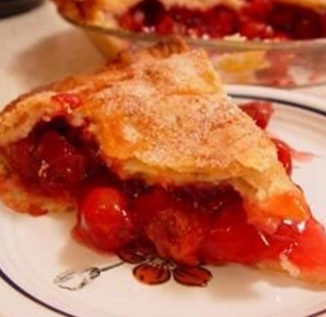 Brandied Cherry Clafouti
