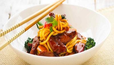 Peking Duck Stir Fry
