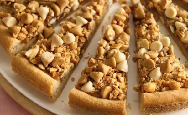 Nutty Caramel Cookie Tart