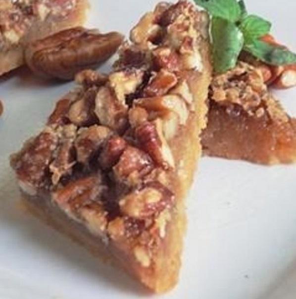 Maple Pecan Shortbread