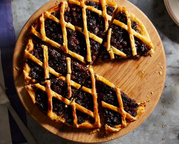 Prune And Raisin Tart