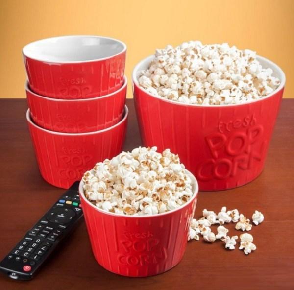 Ceramic Popcorn Bowls