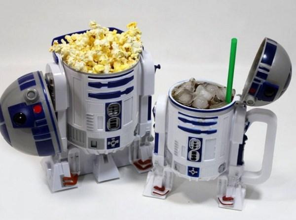 Star Wars R2-D2 Popcorn Bucket and Drink Stein