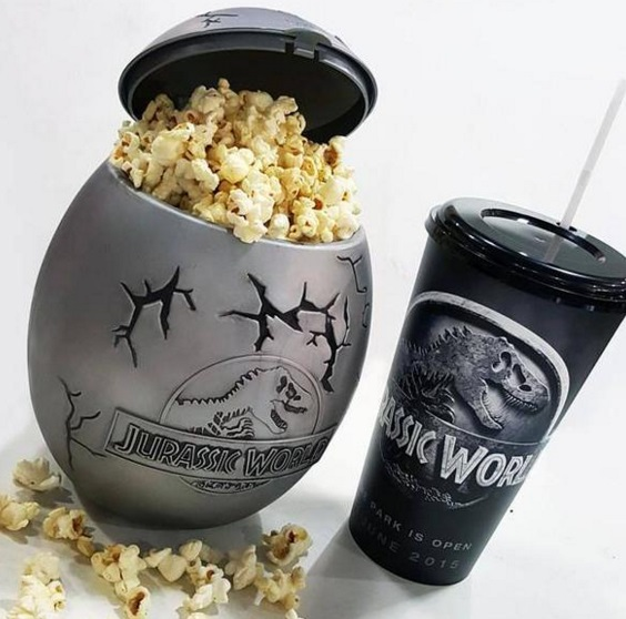Jurassic World Popcorn Bucket