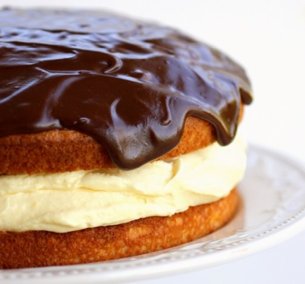 Traditional Boston Cream Pie