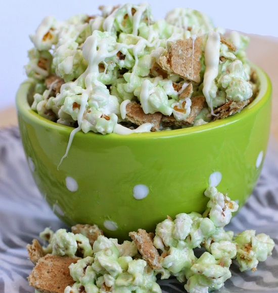 Homemade Key Lime Pie Popcorn