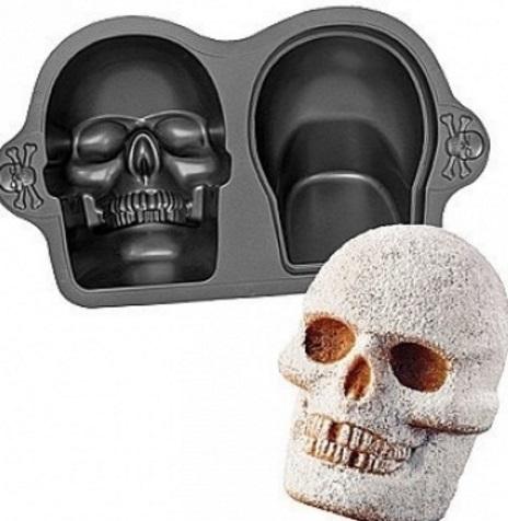 3D Skull Cake Pan