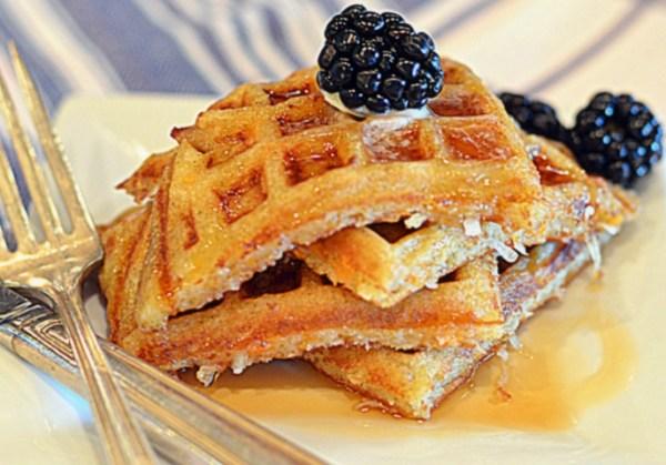 Sweet Potato Dessert Waffles