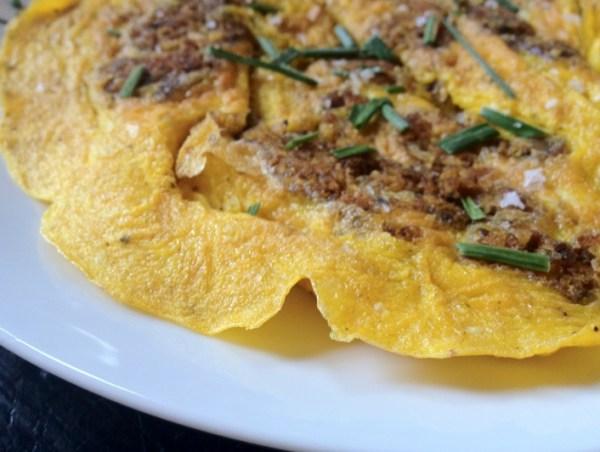 Scrapple Omelet