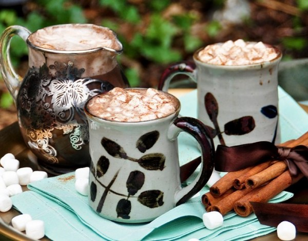 Spicy Espresso Hot Chocolate