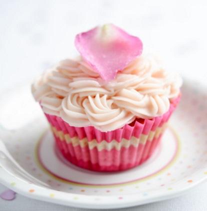 Beetroot and Vanilla Cupcakes
