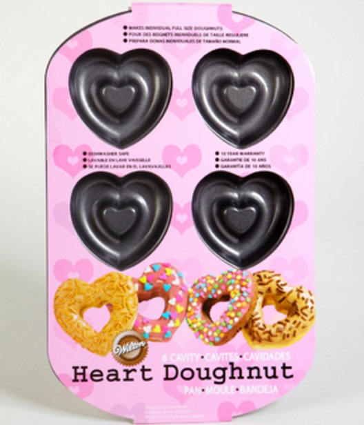 Heart Shaped Doughnuts Pan