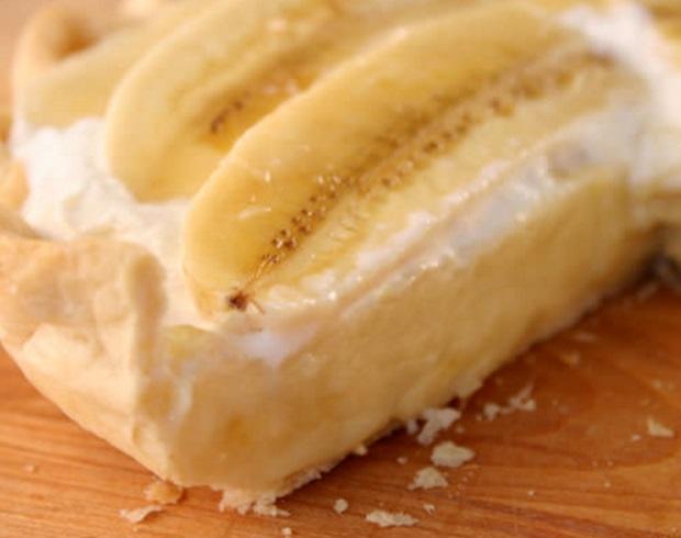 Banana Bavarian Cream Pie