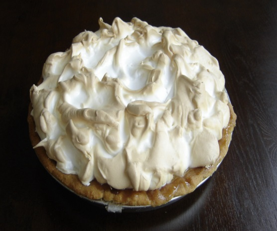 Eggnog Bavarian Cream Pie
