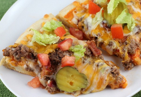The Cheeseburger Pizza