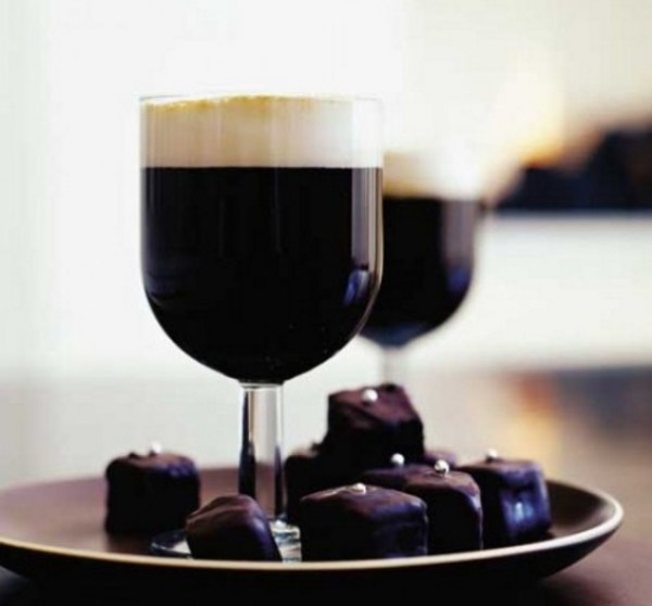 Irish Coffee With Baileys Cream