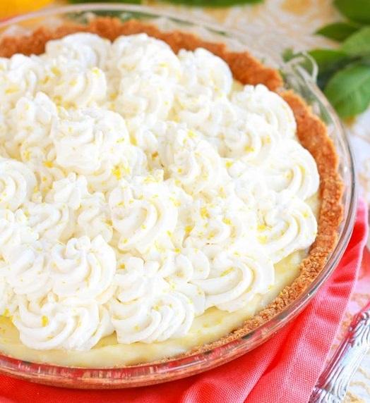 Top 10 Luscious Recipes For Lemon Cream Pie Day