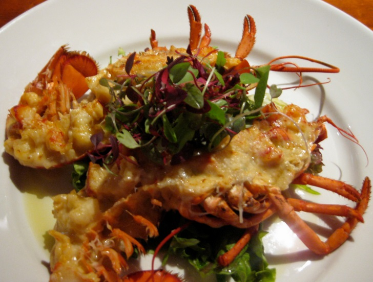 Cuban Rock Lobster Thermidor