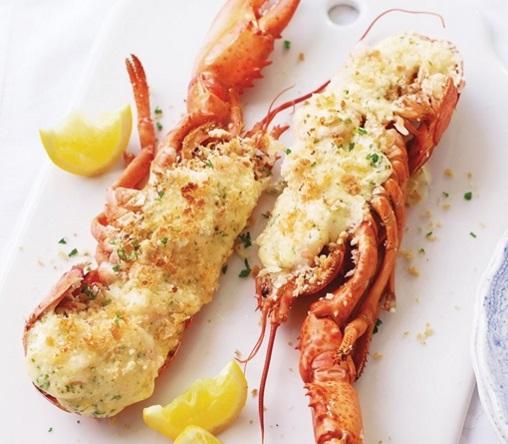 Lobster & Prawn Thermidor