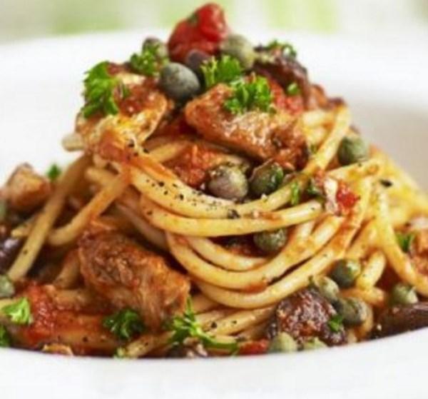 Sardines & Spaghetti