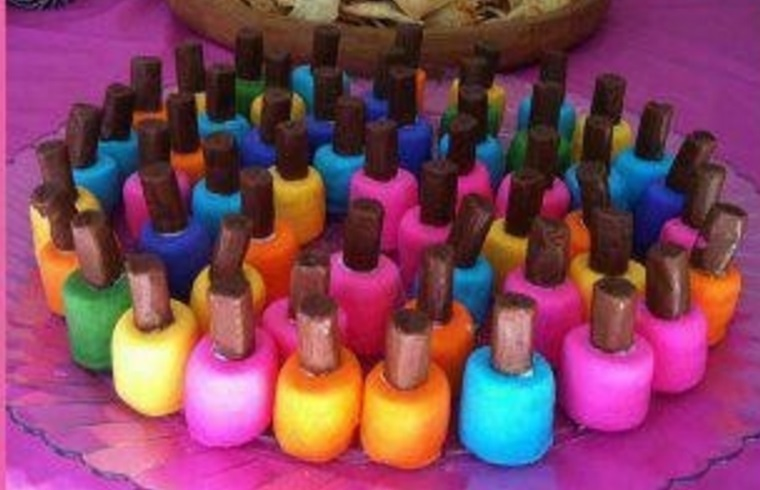 Tootsie Roll Nail Polish Treats