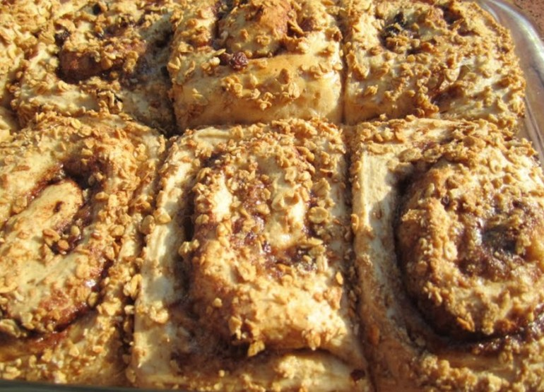 Raisin Bran Cinnamon Buns