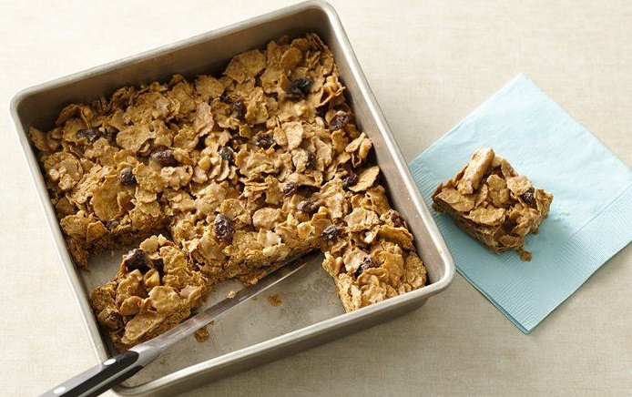 Raisin Bran Breakfast Bars