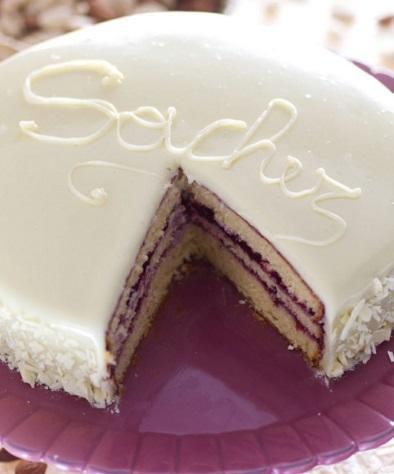 White Chocolate Sacher Torte