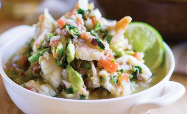 Lager Cured Shrimp & Crab Ceviche